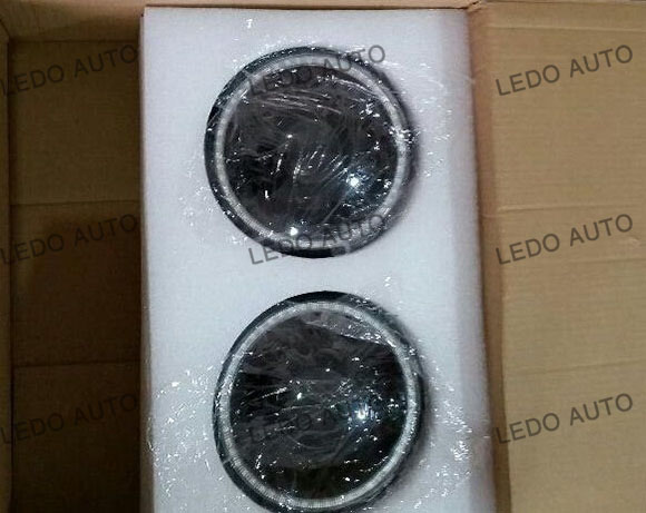 Jeep Wrangler Seal Beam LED headlight Modified 2