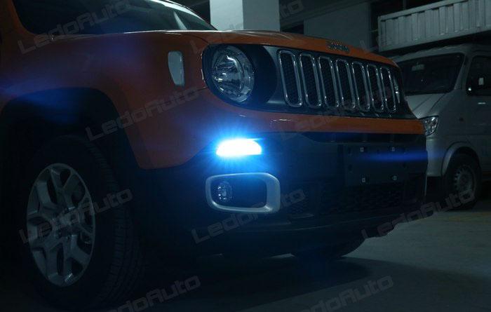 2016 Jeep Renegade Modify Romantic Cool Blue Led Interior