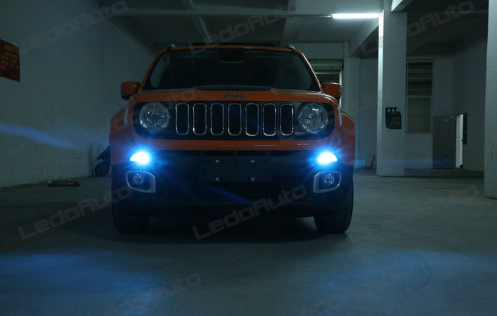 2016 Jeep Renegade Modify Romantic Cool Blue Led Interior