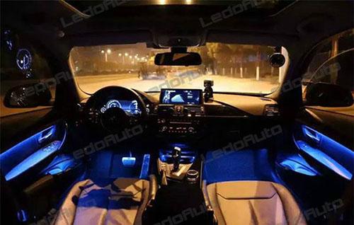 BMW 3 Series Novel Flexible Strip LED Accent Light 6