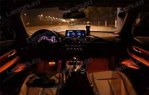 BMW 3 Series Novel Flexible Strip LED Accent Light 7