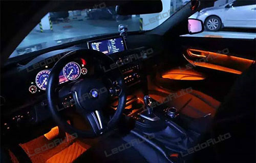 BMW 3 Series Novel Flexible Strip LED Accent Light 8