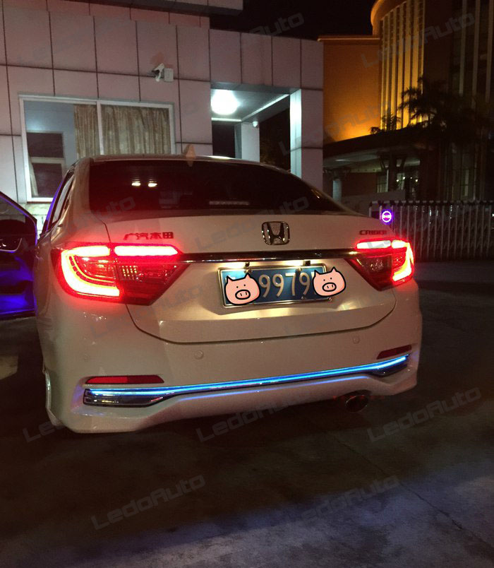 Honda Crider Modified Led Accent Light By Rgb 3m Tape