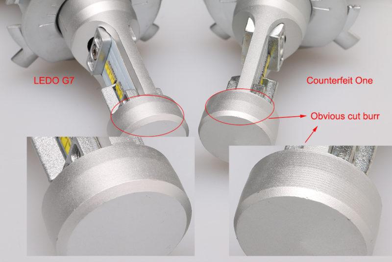 Differece of Aluminum cutting craft