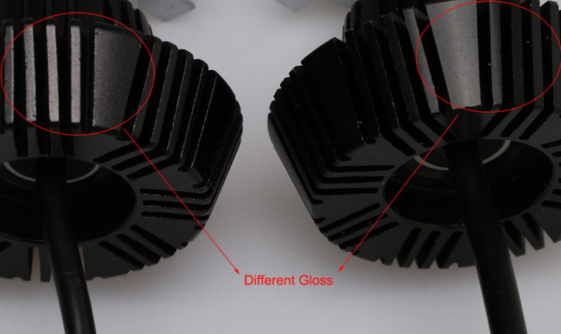 G7 Philips LED Headlight VS. Fake G7 LED Headlight