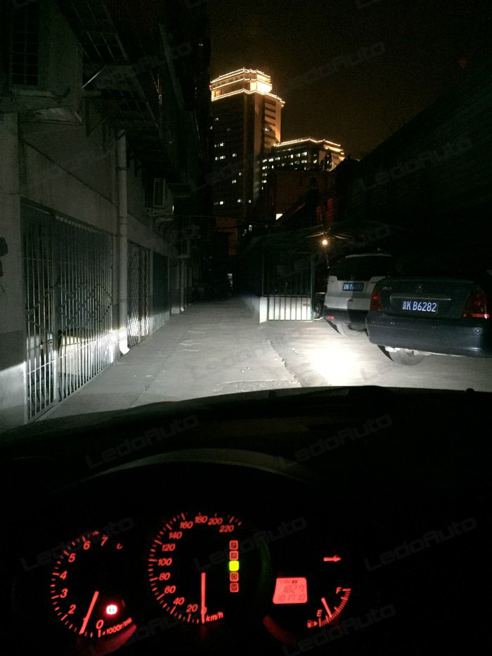 We Can See That Led Headlight Is Not Bad On Brightness Lighting Isn T Too Ted But Wide And Long Distance Enough
