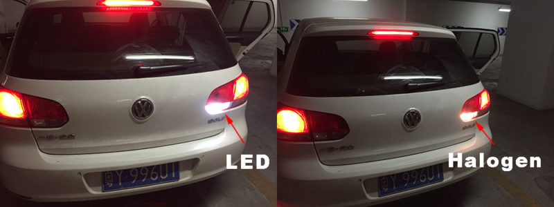 These Led Bulbs 100 Fit To Volkswagen Golf 6 Rear Drl