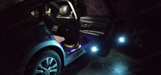 Nissan TEANA Upgrading LED Interior Lights And Door Light