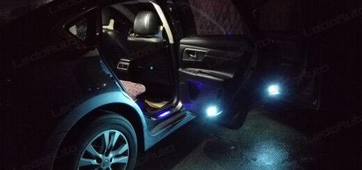 Nissan TEANA Upgrading LED Interior Lights And Door Light