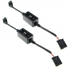 H4 Auto LED Headlight DRL Fog Light Canbus Canceller Load Decoder