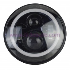 "7040BA OEM Type Offroad Sealed 7"" Round LED headlight"