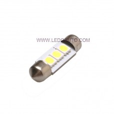 5050 SMD 3LEDS Festoon Bulb 31/32/36/39/41/42mm Available