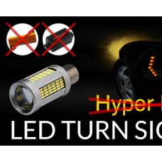 New Installed led turn signal lights flash fast? Here is the solution.