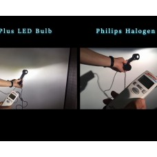 LedoAuto A Plus N3 LED Headlight Bulbs | Product Testing and Comparison with Halogen Bulbs