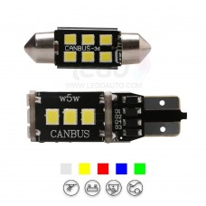 High Brightness 2835SMD Festoon And T10 LED Light for Toyota
