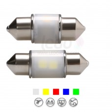 3D Lighting High Performance 28mm Festoon LED Light for Jaguar