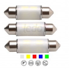 3D Lighting High Performance Festoon LED Light (Fit FIAT IDEA)