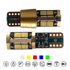 ENIG Tech 14K Gold Super CANBus LED T10 Light for Porsche