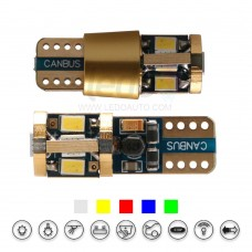 ENIG Tech 14K Gold Super CANBus T10 LED Light for Volve