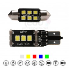 High Brightness  2835SMD T10 And Festoon LED Light (Fit CITROEN C1)